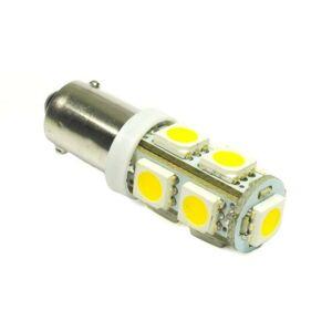 Interlook LED auto žárovka 12V LED BA9S 9SMD5050 H6W 2W Teplá bílá